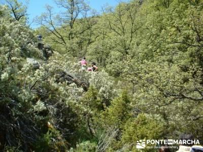 Ascensión a Valdebecerril - senderismo comunidad de madrid; excursiones en semana santa